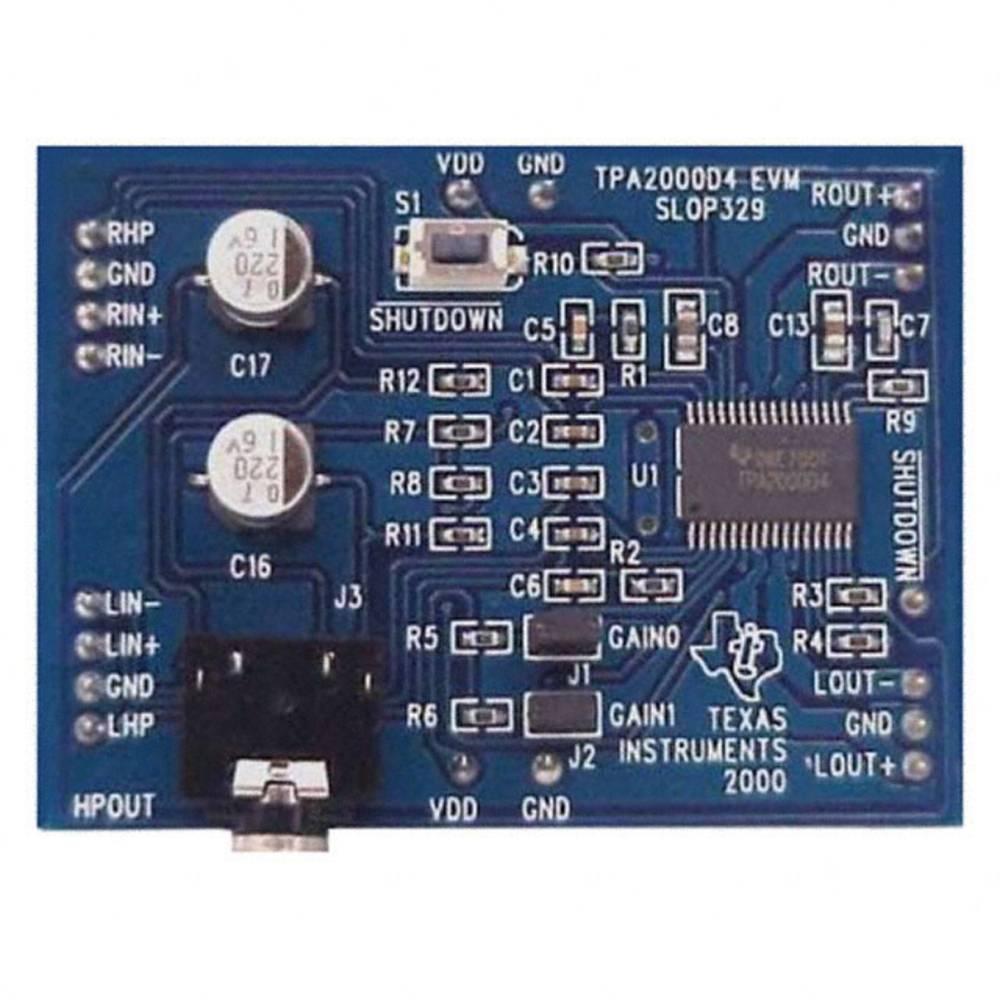 Razvojna plošča Texas Instruments TPA2000D4EVM