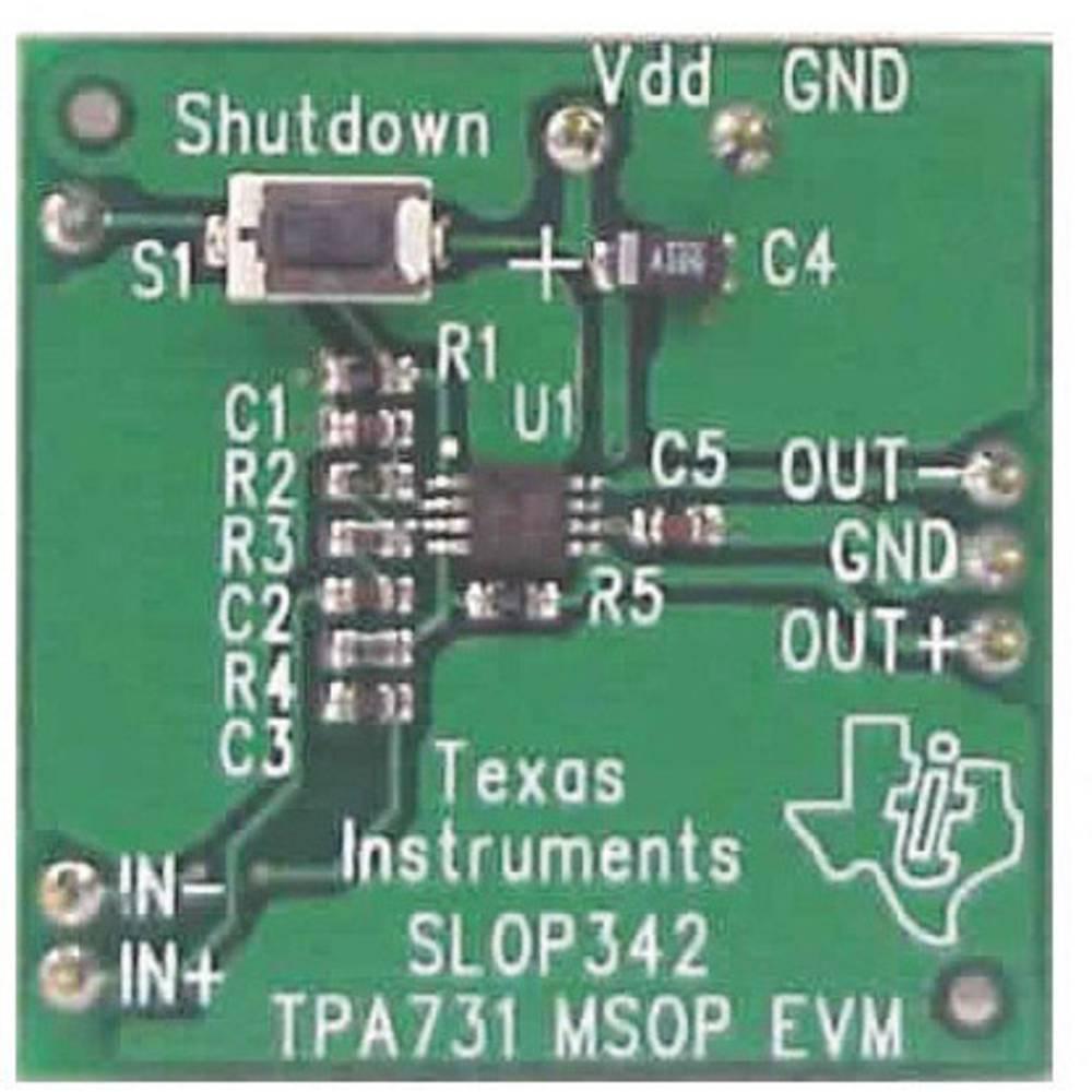 Razvojna plošča Texas Instruments TPA731EVM