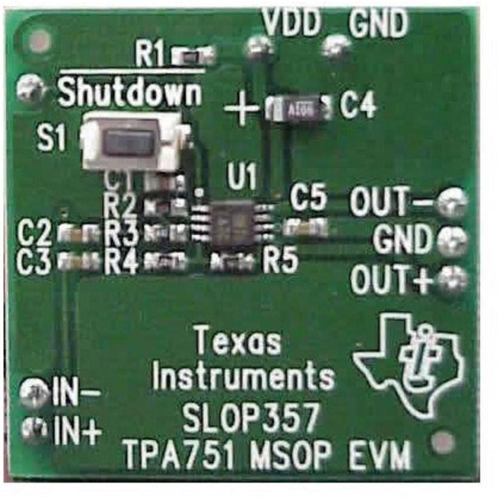 Razvojna plošča Texas Instruments TPA751EVM