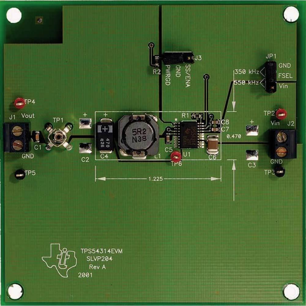 Razvojna plošča Texas Instruments TPS54314EVM