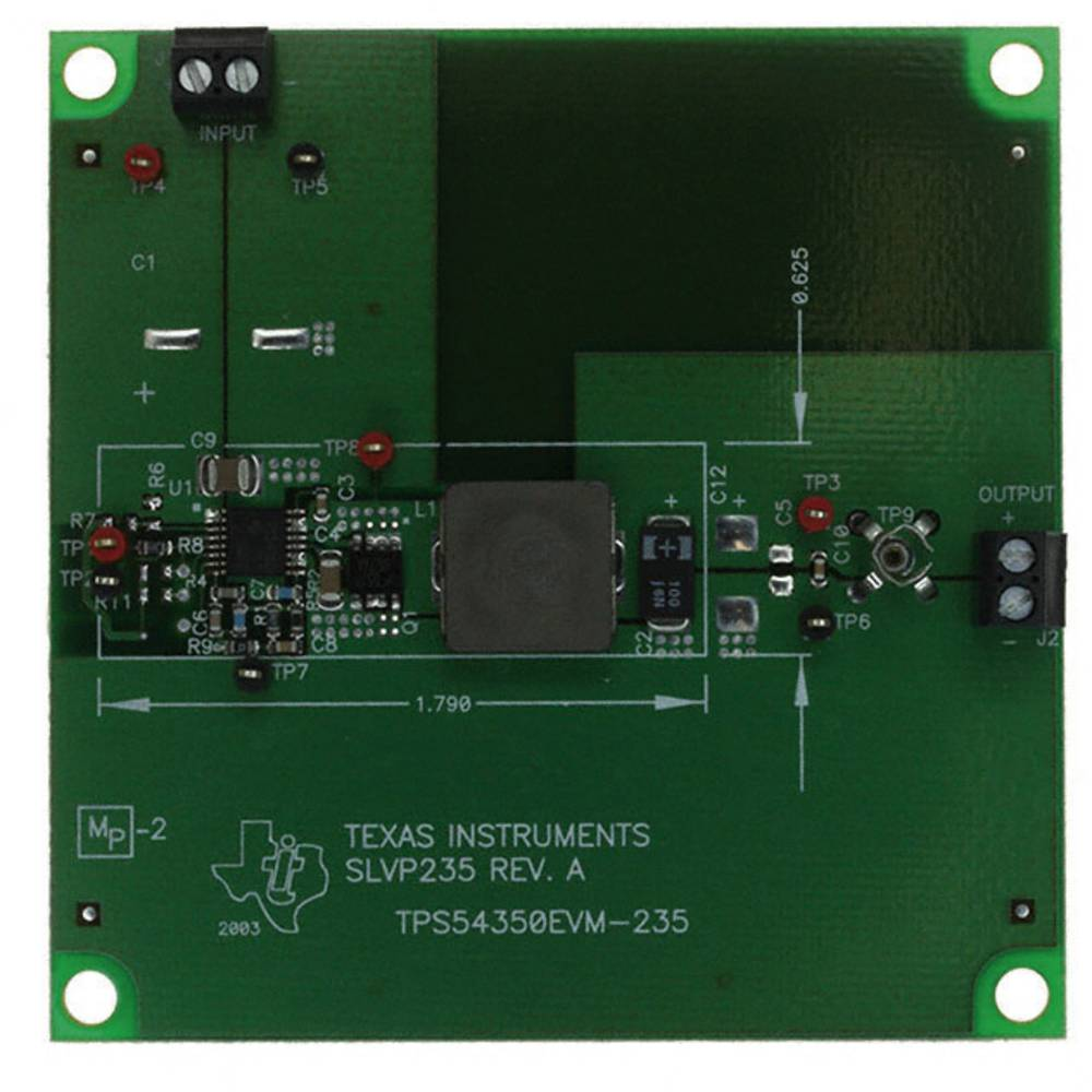 Razvojna plošča Texas Instruments TPS54350EVM-235