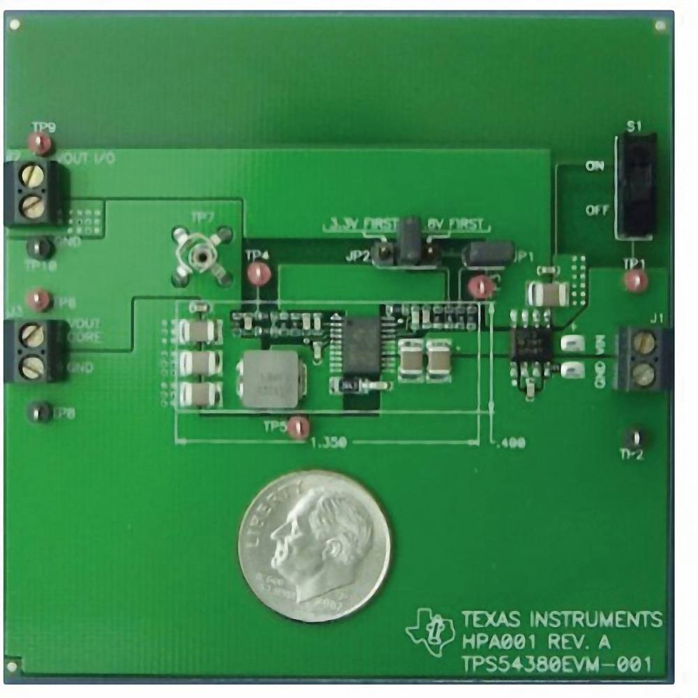Razvojna plošča Texas Instruments TPS54380EVM-001