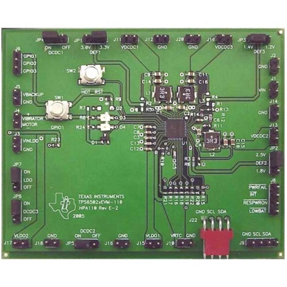 Razvojna plošča Texas Instruments TPS65021EVM-110