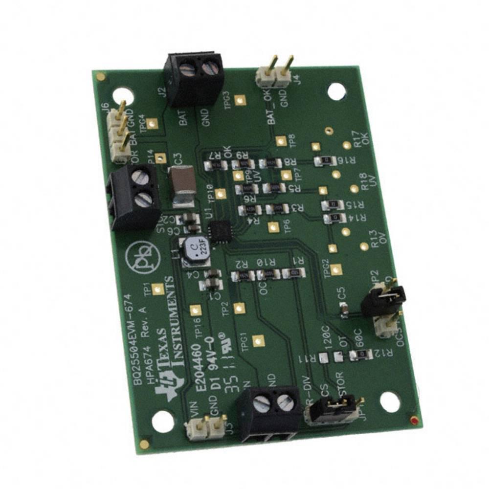 Razvojna plošča Texas Instruments BQ25504EVM-674