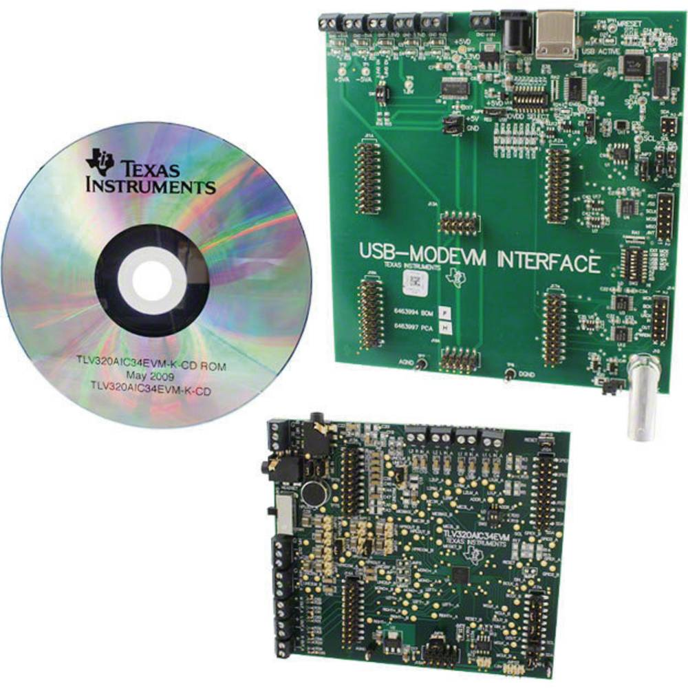 Razvojna plošča Texas Instruments TLV320AIC34EVM-K