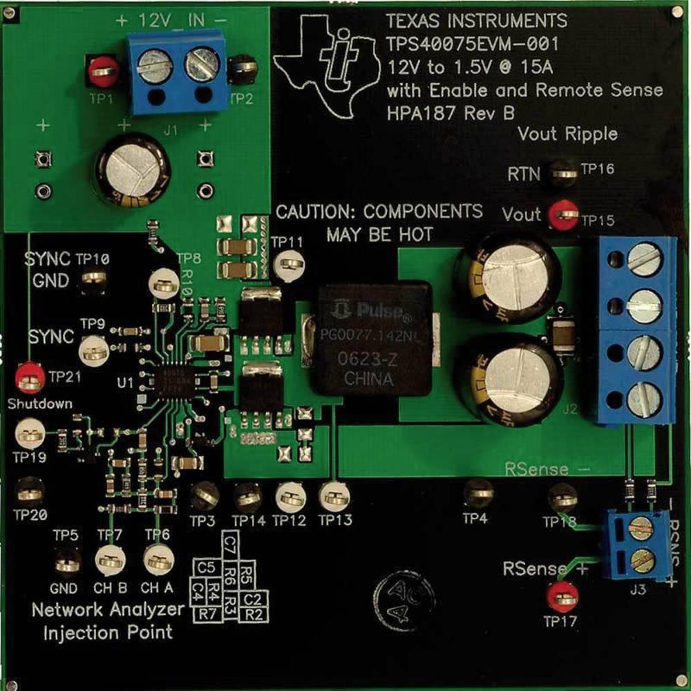 Razvojna plošča Texas Instruments TPS40075EVM-001