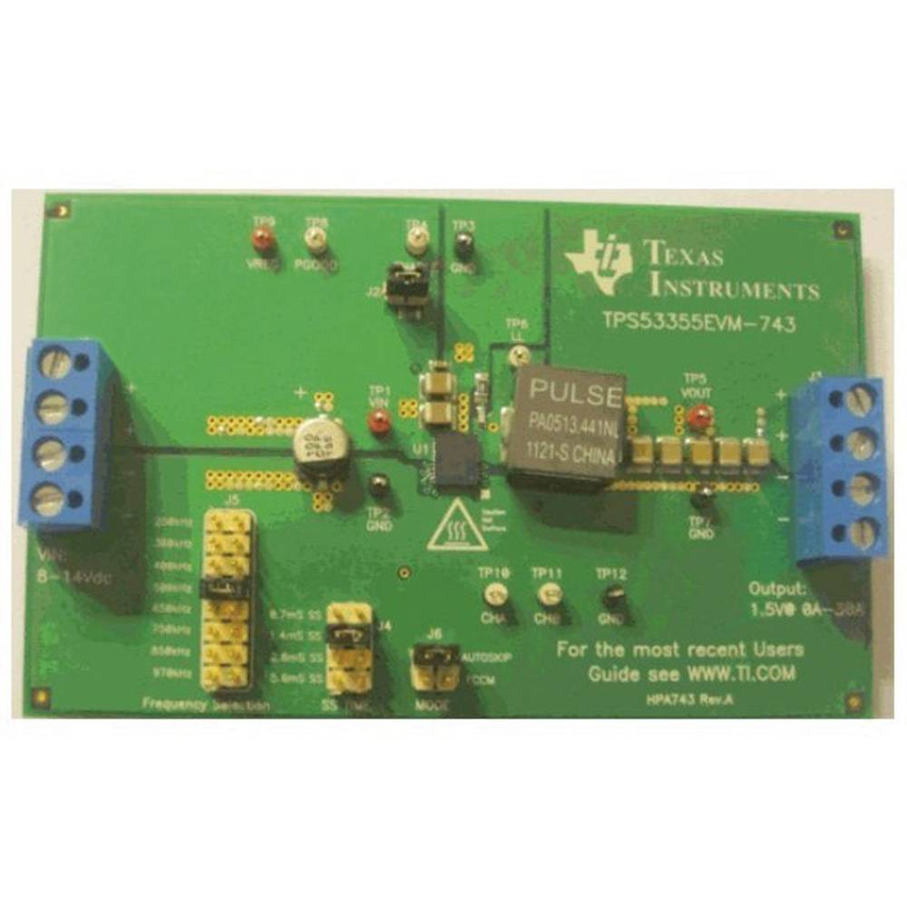 Razvojna plošča Texas Instruments TPS53355EVM-743