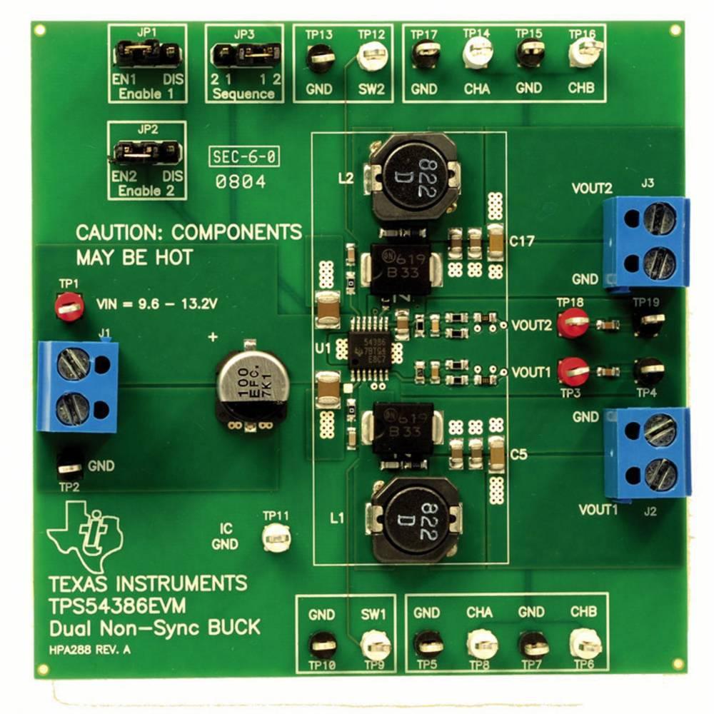 Razvojna plošča Texas Instruments TPS54386EVM
