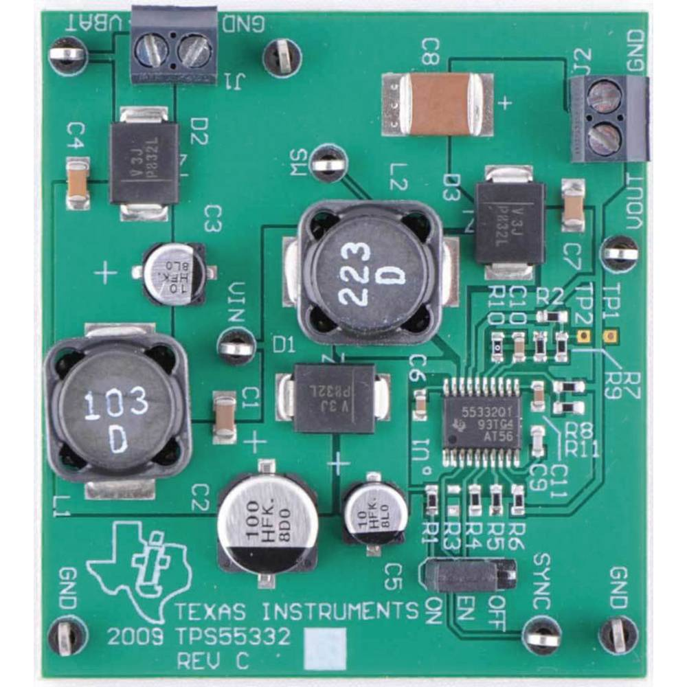 Razvojna plošča Texas Instruments TPS55332EVM