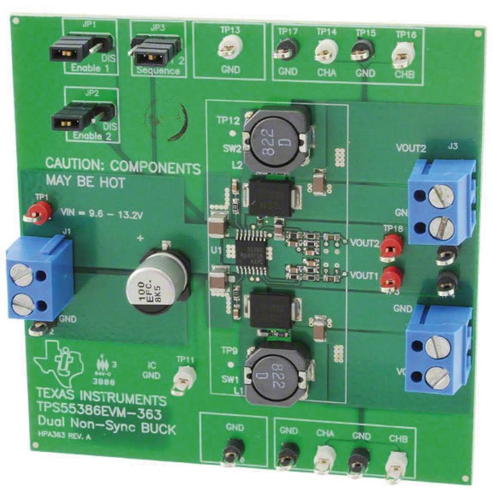 Razvojna plošča Texas Instruments TPS55386EVM-363