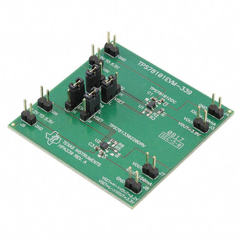 Razvojna plošča Texas Instruments TPS78101EVM-339