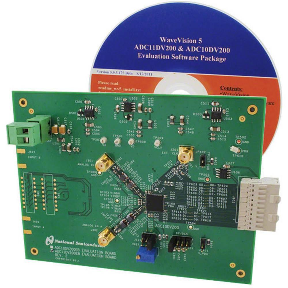 Razvojna plošča Texas Instruments ADC11DV200EB/NOPB