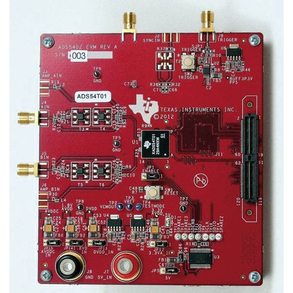 Razvojna plošča Texas Instruments ADS54T01EVM