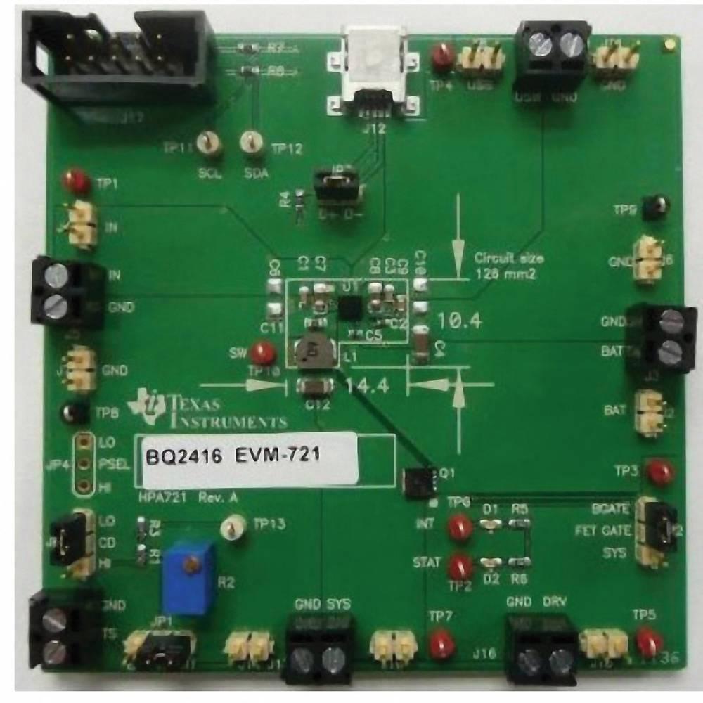 Razvojna plošča Texas Instruments BQ24168EVM-721