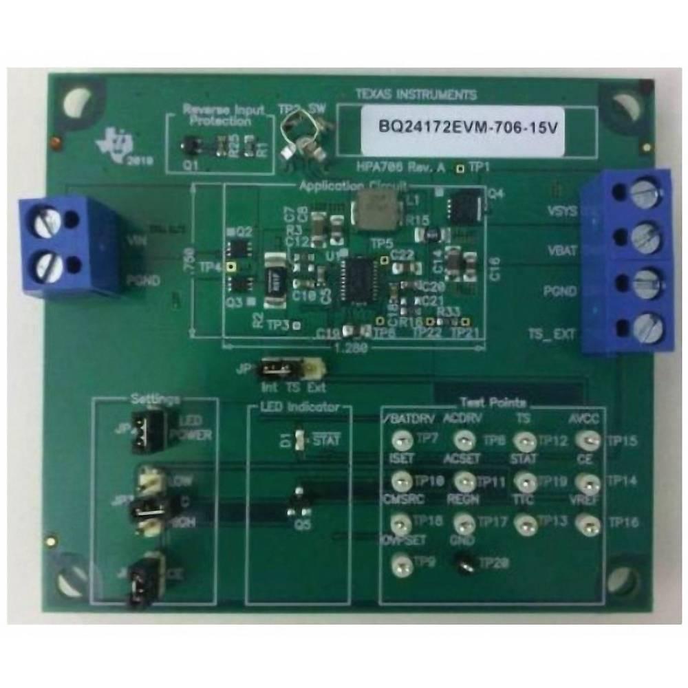 Razvojna plošča Texas Instruments BQ24172EVM-706-15V