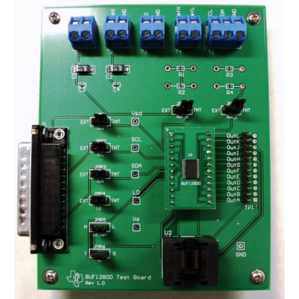 Razvojna plošča Texas Instruments BUF12800EVM