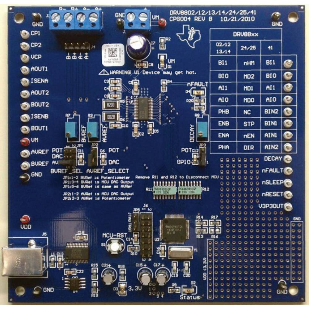 Razvojna plošča Texas Instruments DRV8813EVM