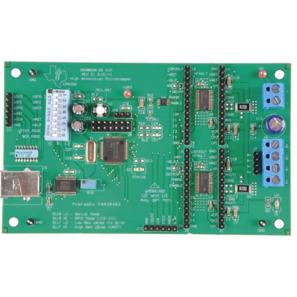Razvojna plošča Texas Instruments DRV8829EVM