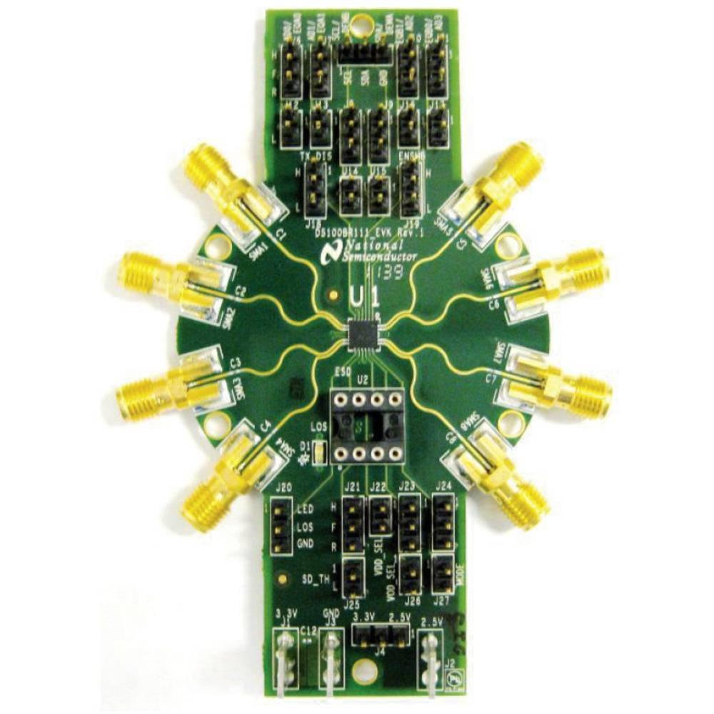 Razvojna plošča Texas Instruments DS100BR111AEVK/NOPB