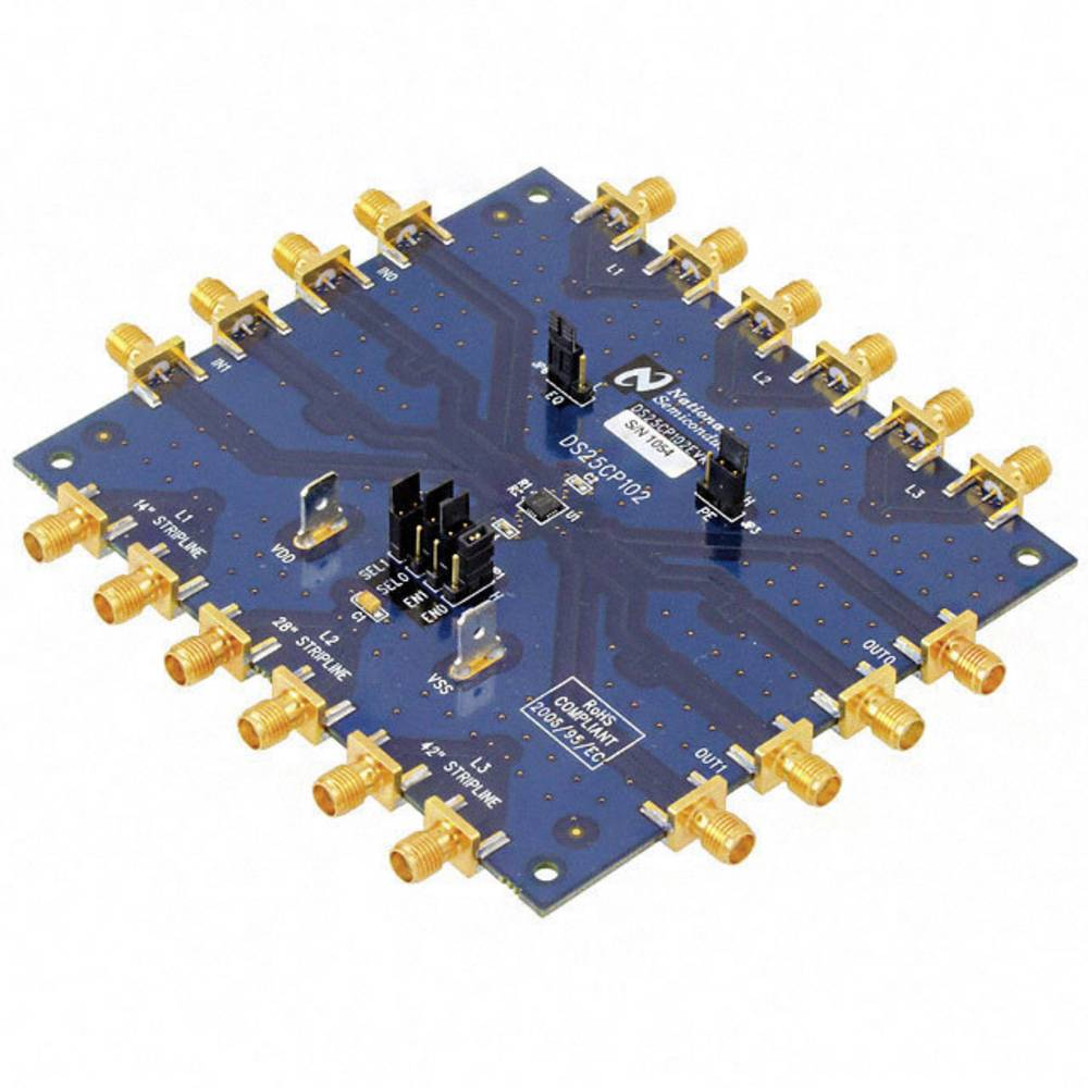 Razvojna plošča Texas Instruments DS25CP102EVK/NOPB