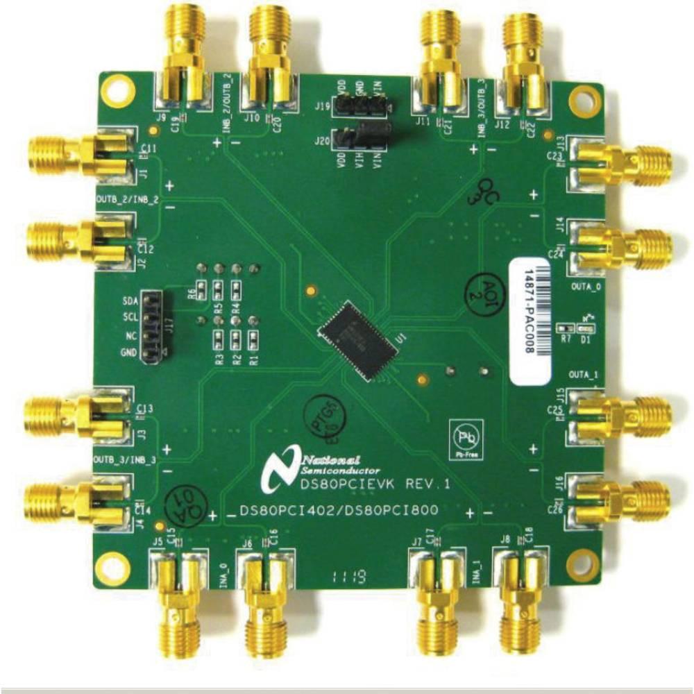 Razvojna plošča Texas Instruments DS80PCI402EVK/NOPB