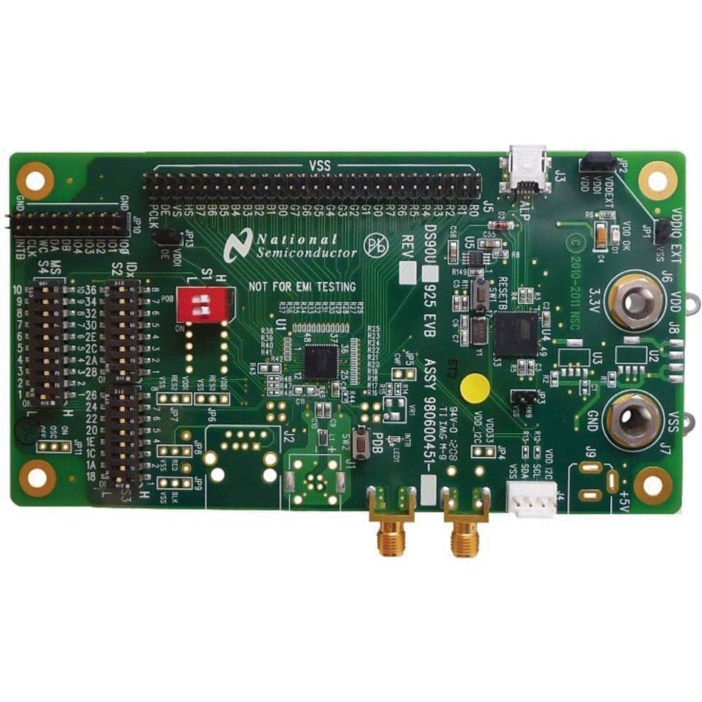 Razvojna plošča Texas Instruments DS90UB925QSEVB/NOPB