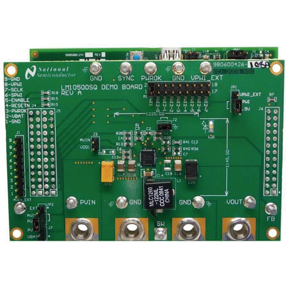 Razvojna plošča Texas Instruments LM10500SQ-0.8EV/NOPB