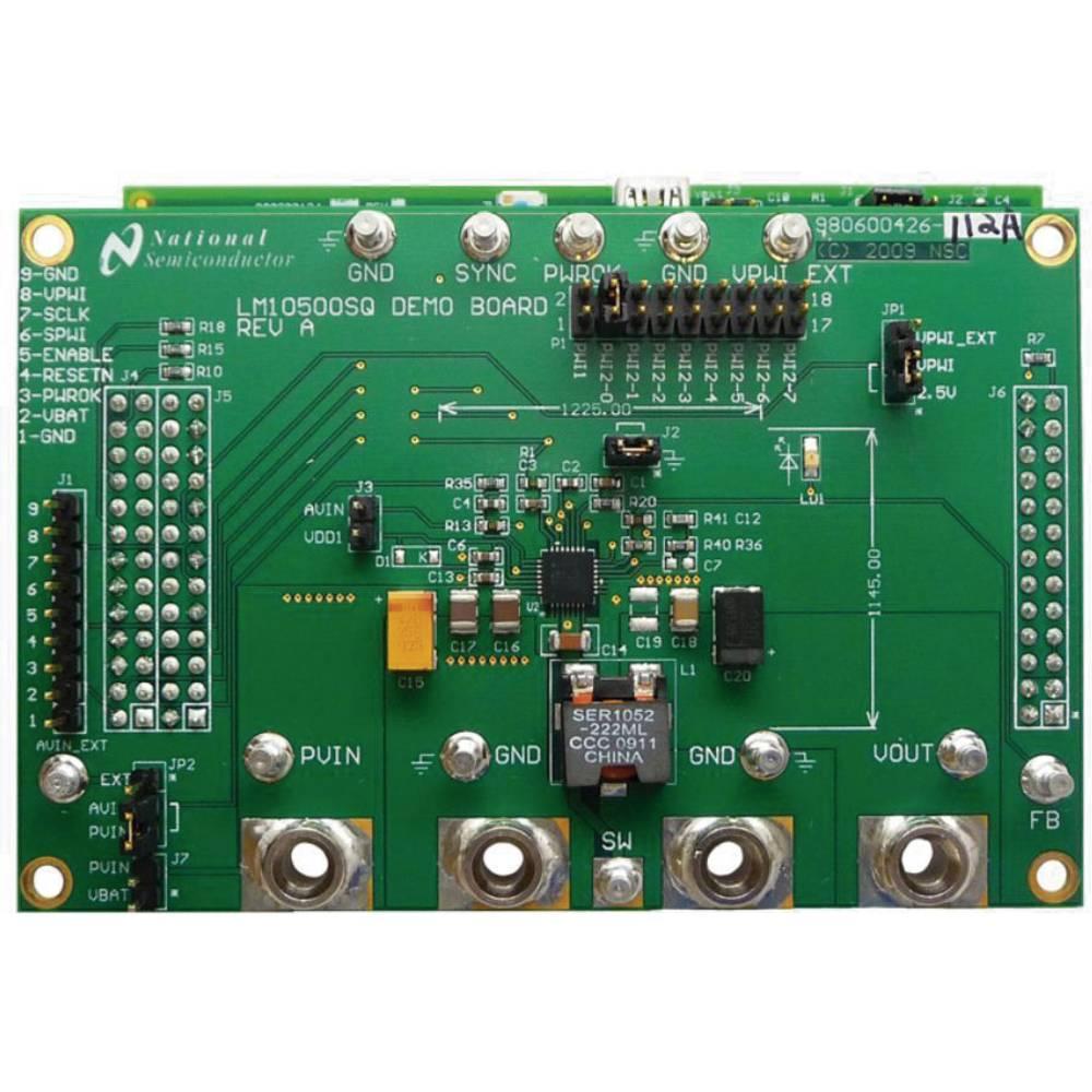 Razvojna plošča Texas Instruments LM10500SQ-1.0EV/NOPB
