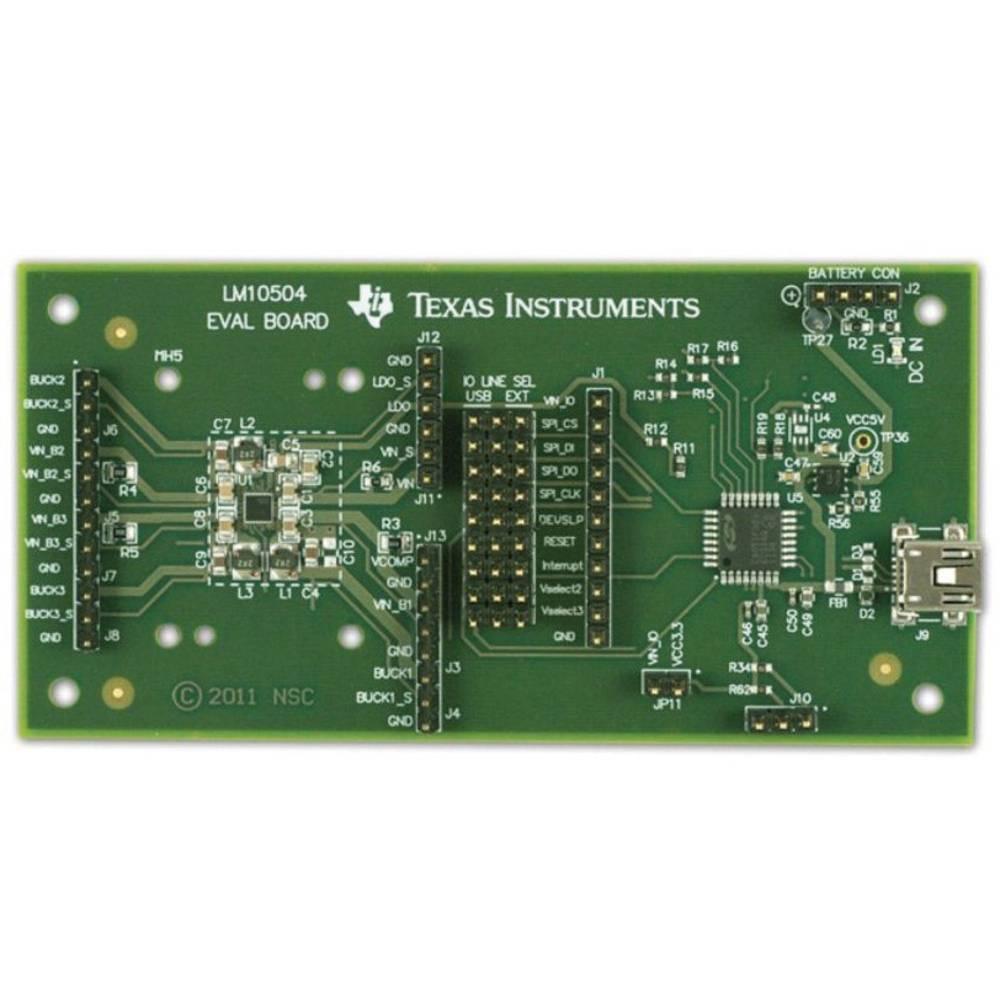 Razvojna plošča Texas Instruments LM10504EVAL/NOPB