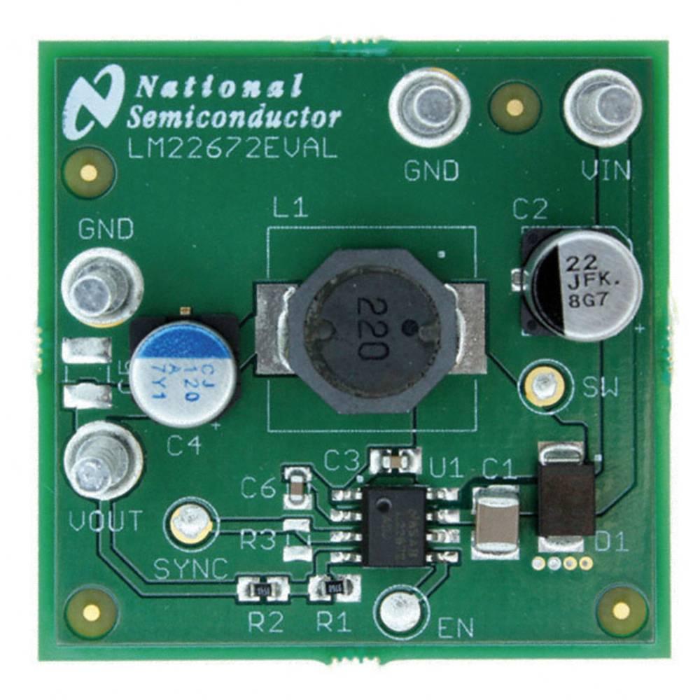 Razvojna plošča Texas Instruments LM22672EVAL/NOPB