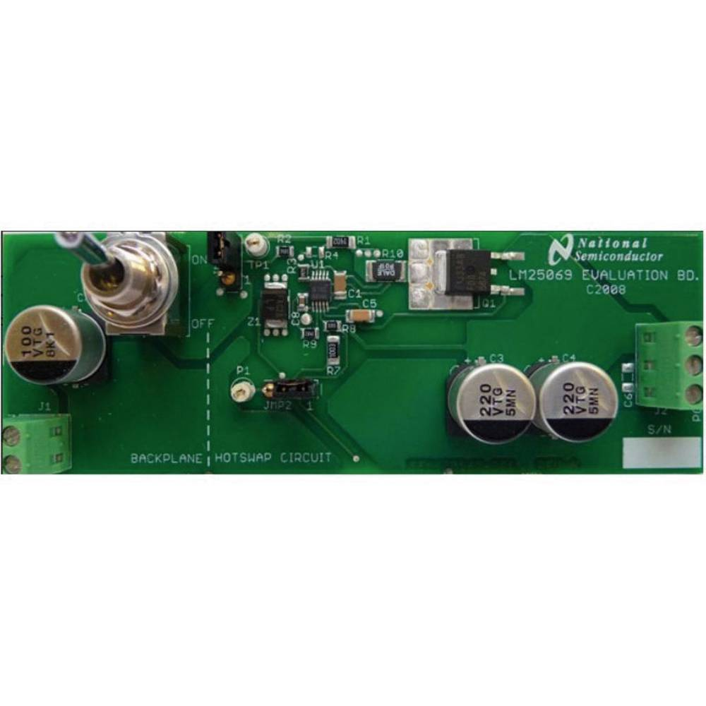 Razvojna plošča Texas Instruments LM25069MM-2EVAL/NOPB