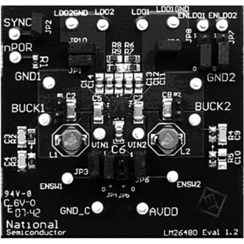 Razvojna plošča Texas Instruments LM26480SQ-AAEV/NOPB