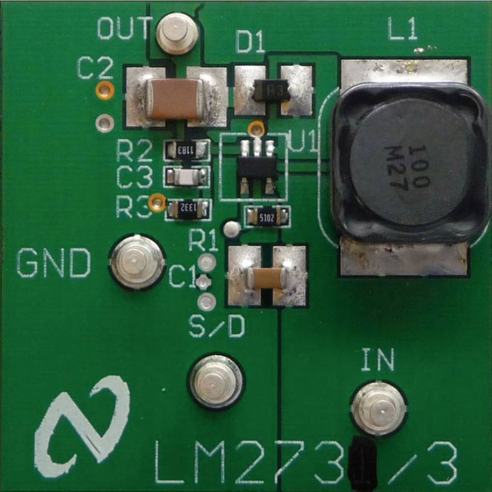 Razvojna plošča Texas Instruments LM2733YEVAL/NOPB