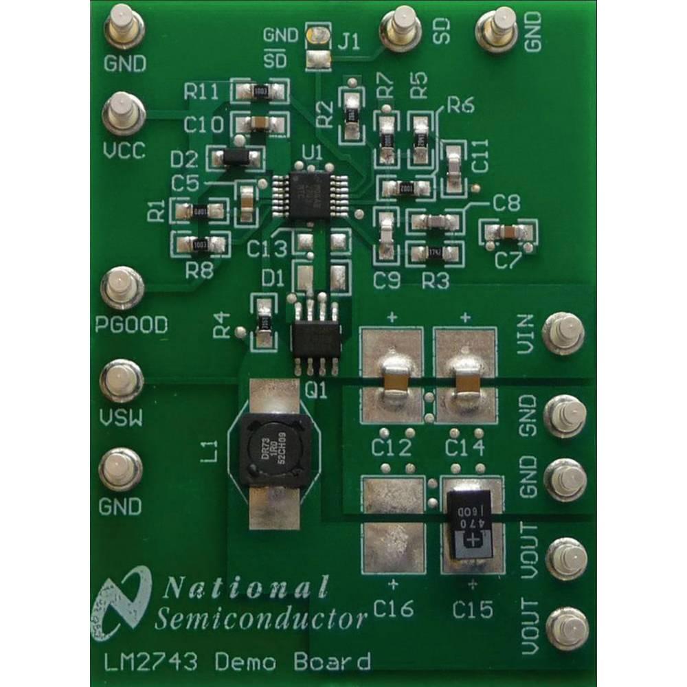 Razvojna plošča Texas Instruments LM2743EVAL/NOPB