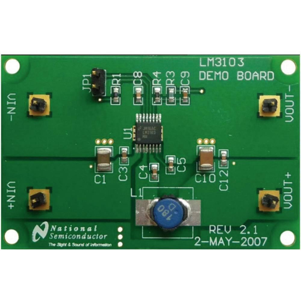 Razvojna plošča Texas Instruments LM3103EVAL/NOPB
