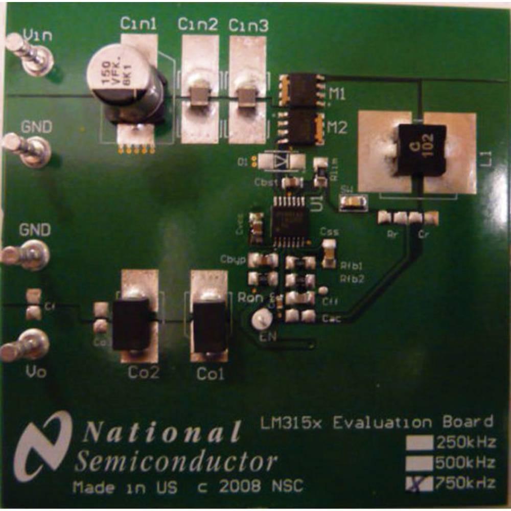 Razvojna plošča Texas Instruments LM3150-750EVAL