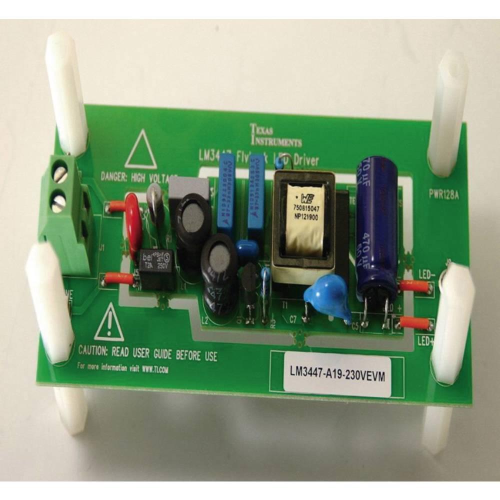 Razvojna plošča Texas Instruments LM3447-A19-230VEVM