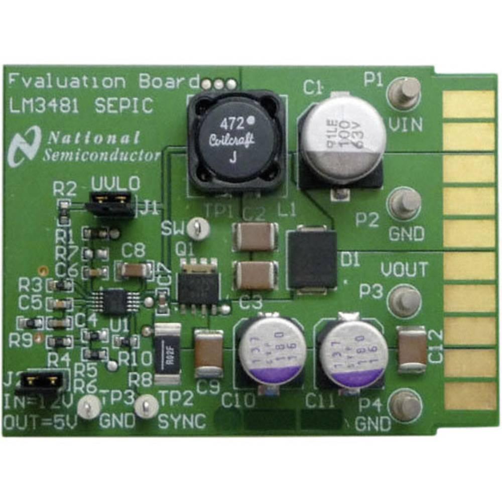 Razvojna plošča Texas Instruments LM3481SEPICEVAL/NOPB