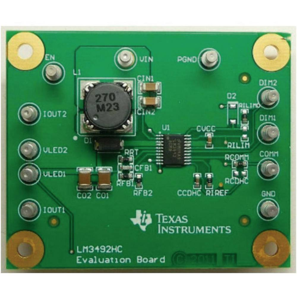Razvojna plošča Texas Instruments LM3492HCEVM