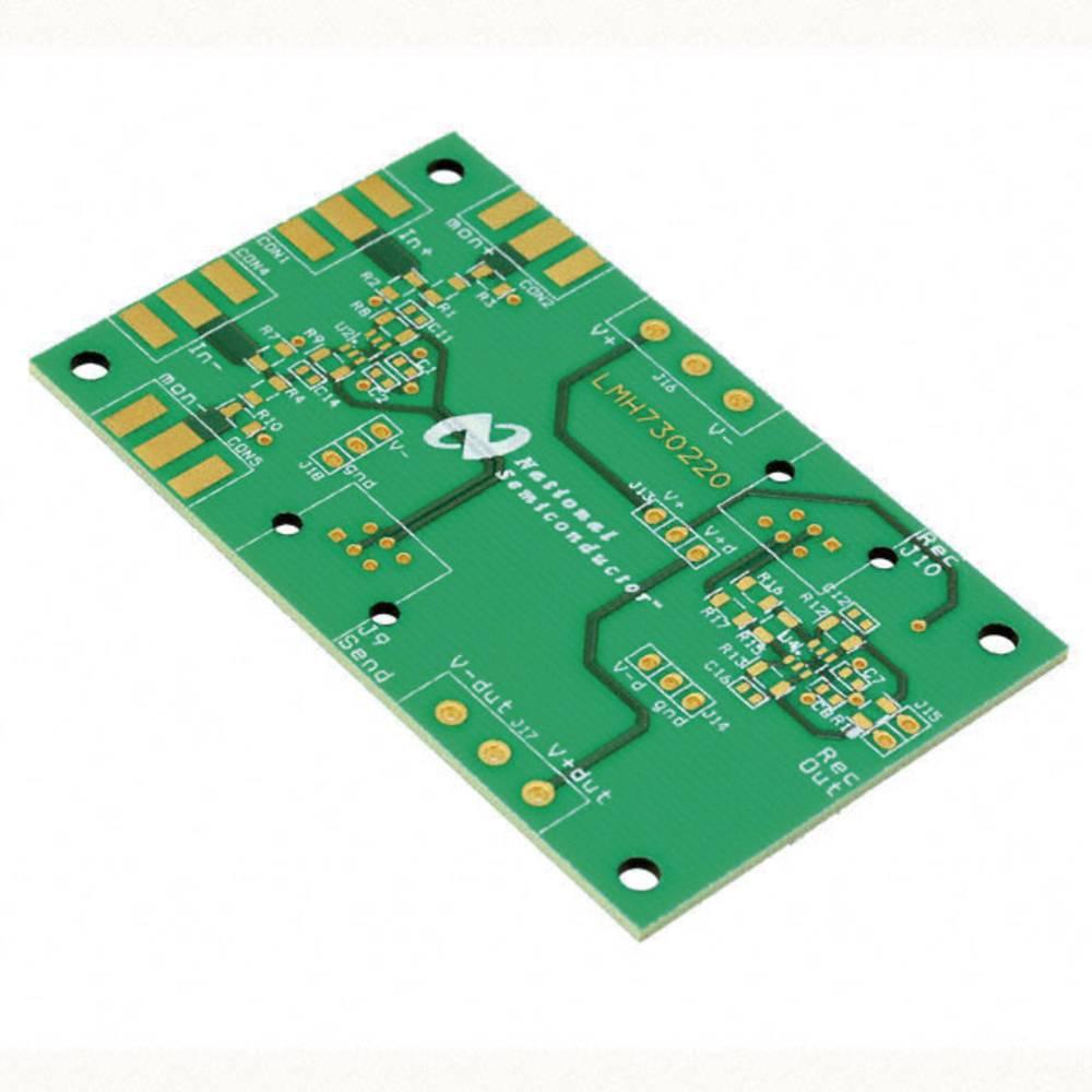 Plošča za tiskano vezje (neopremljena) Texas Instruments LMH730220/NOPB