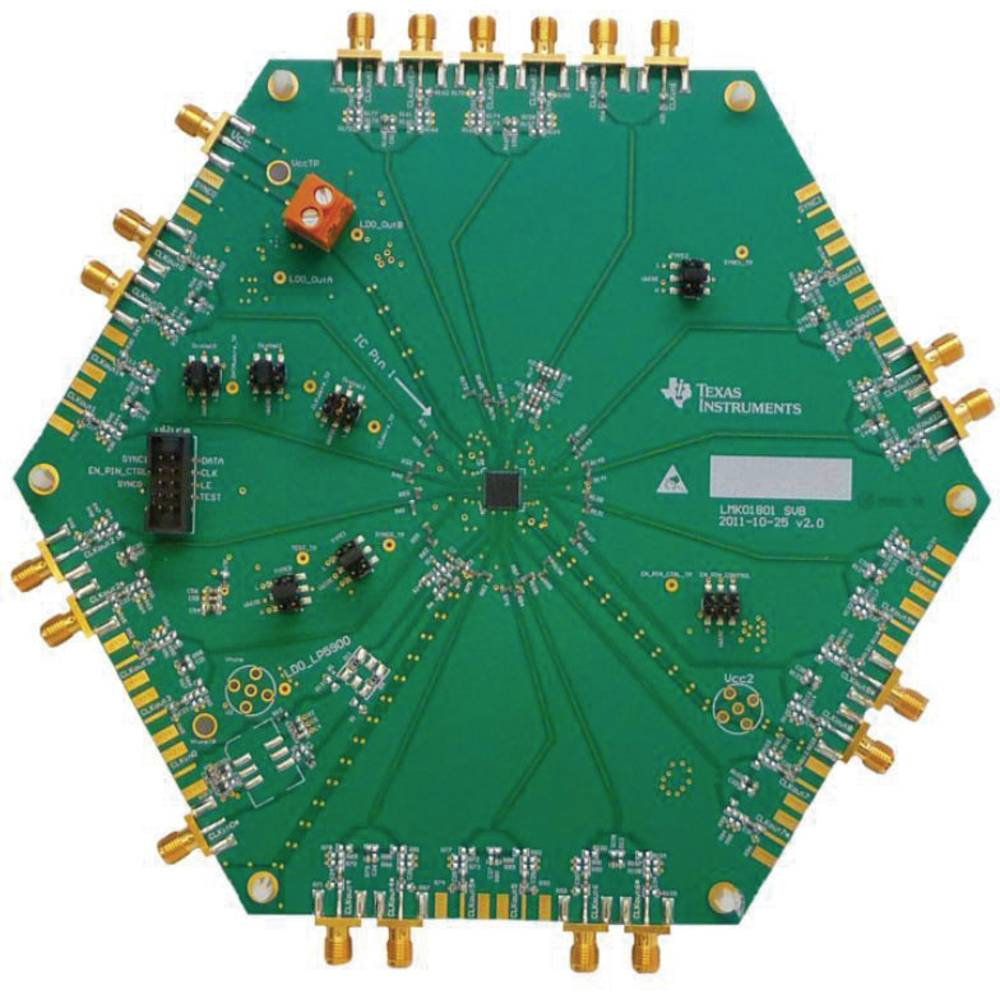 Razvojna plošča Texas Instruments LMK01801BEVAL/NOPB