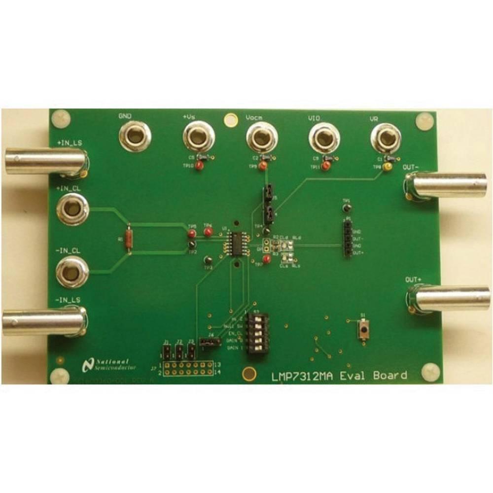 Razvojna plošča Texas Instruments LMP7312MAEVAL/NOPB