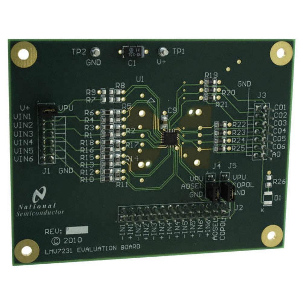 Razvojna plošča Texas Instruments LMV7231EVAL/NOPB
