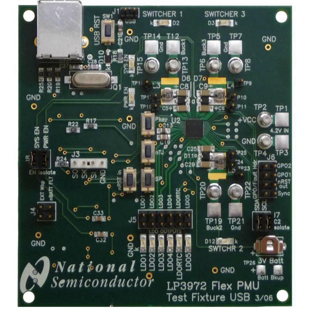 Razvojna plošča Texas Instruments LP3972SQ-I514EV/NOPB