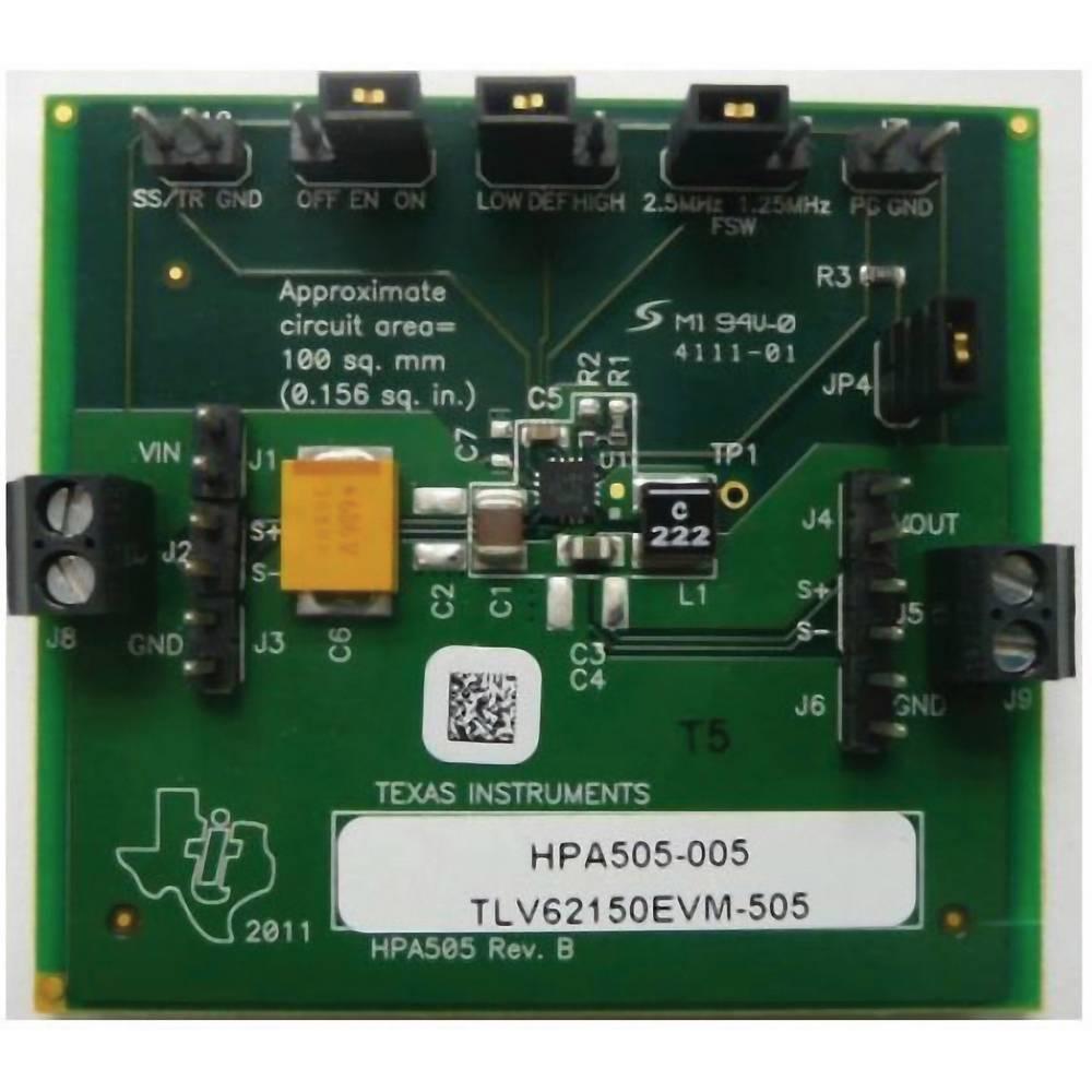 Razvojna plošča Texas Instruments TLV62150EVM-505