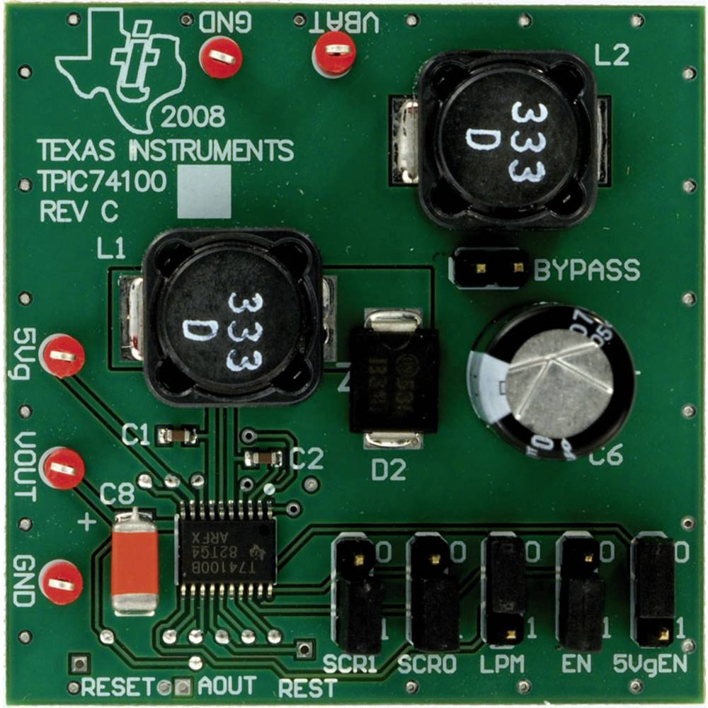 Razvojna plošča Texas Instruments TPIC74101EVM