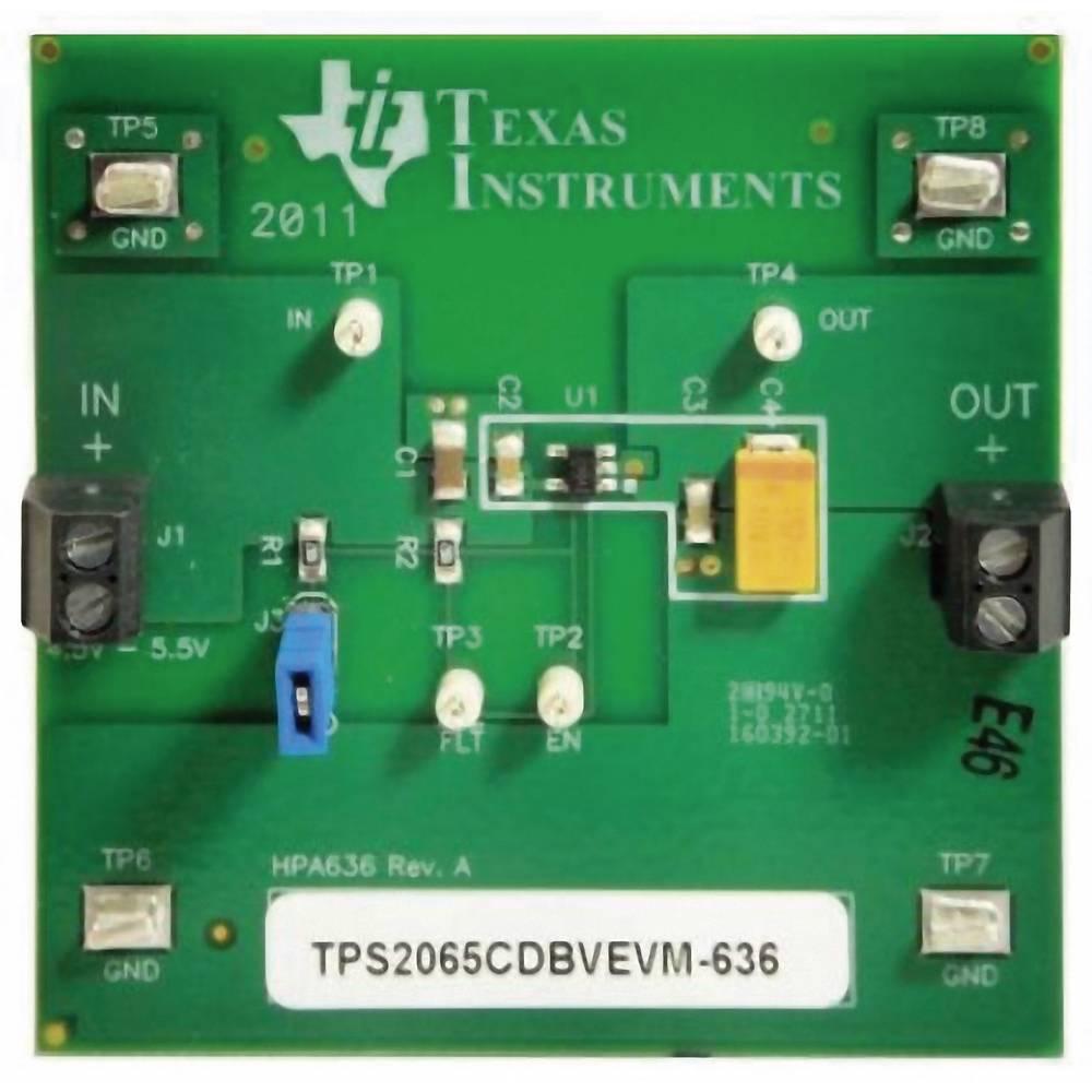 Razvojna plošča Texas Instruments TPS2065CDBVEVM-636