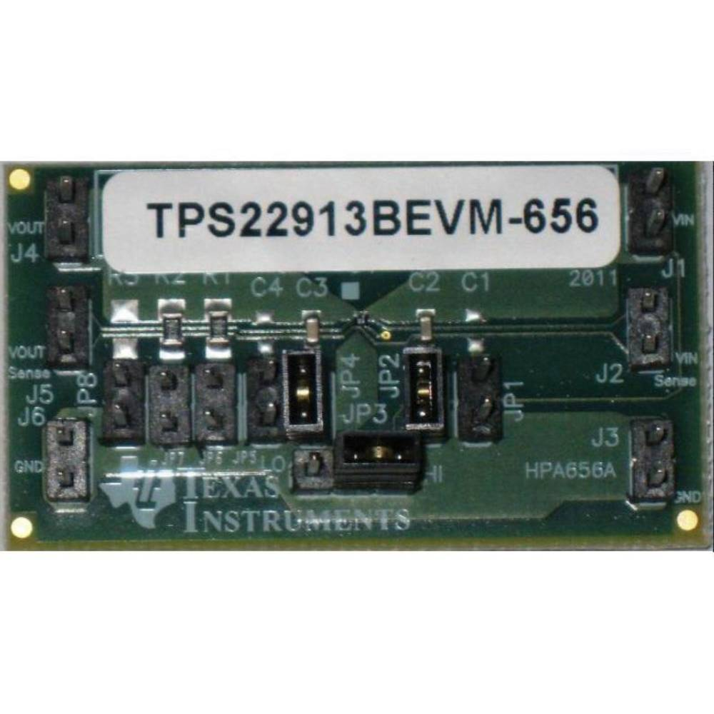 Razvojna plošča Texas Instruments TPS22913BEVM-656
