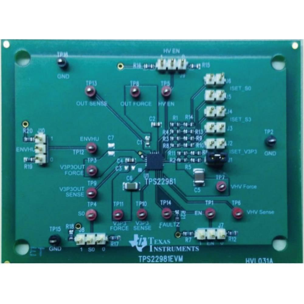 Razvojna plošča Texas Instruments TPS22981EVM