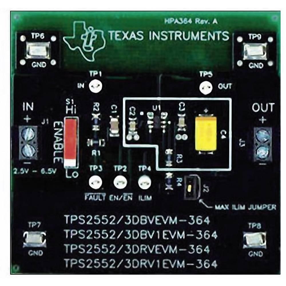 Razvojna plošča Texas Instruments TPS2552DBVEVM-364
